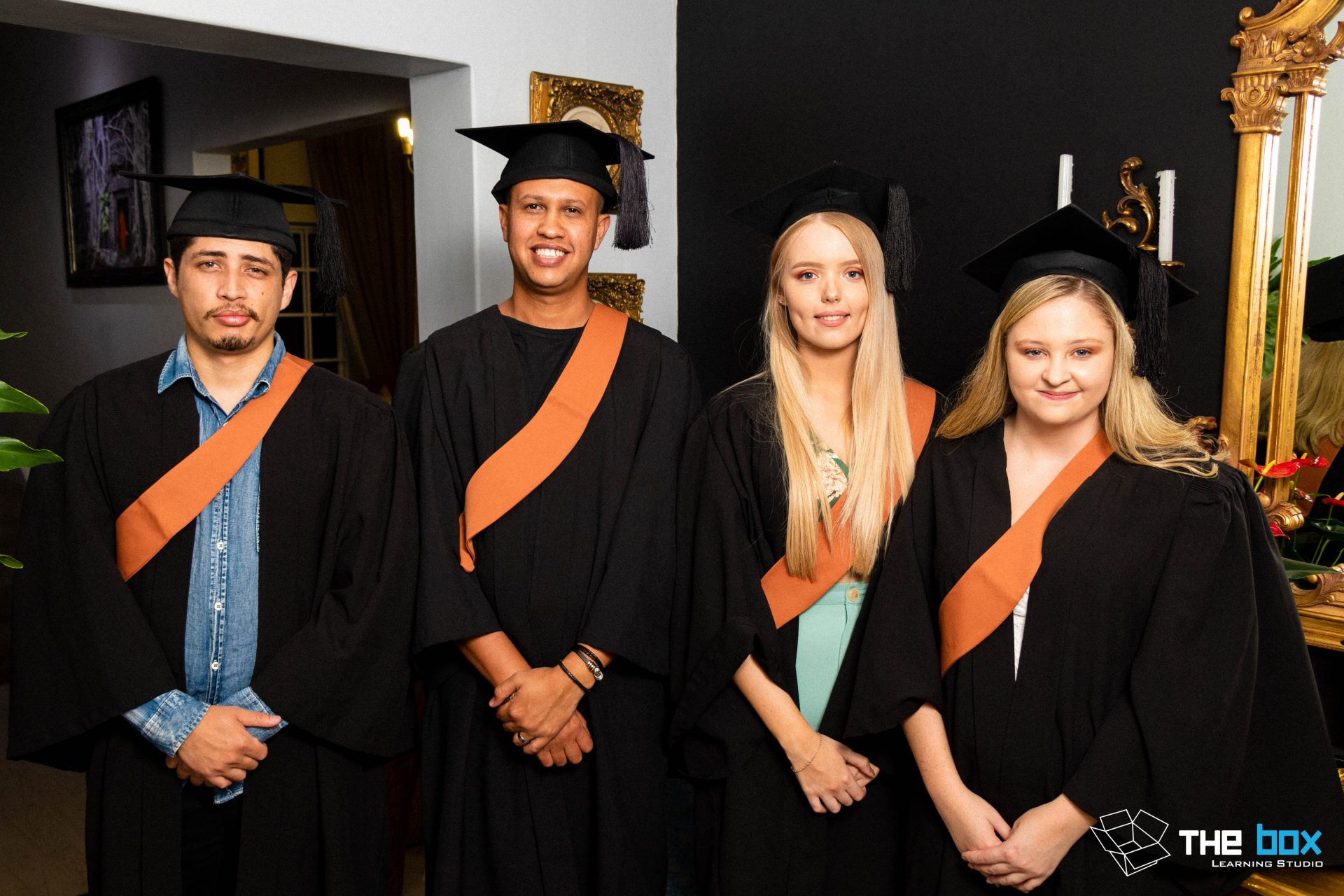 Graduation Photography for The Box Learning Studio